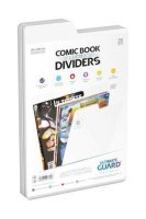 Ultimate Guard Comic Book Dividers Premium Weiß 25...