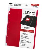 Ultimate Guard 18-Pocket Side-Loading Rot Red (10)