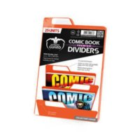 Ultimate Guard Comic Book Dividers Orange 25 Units