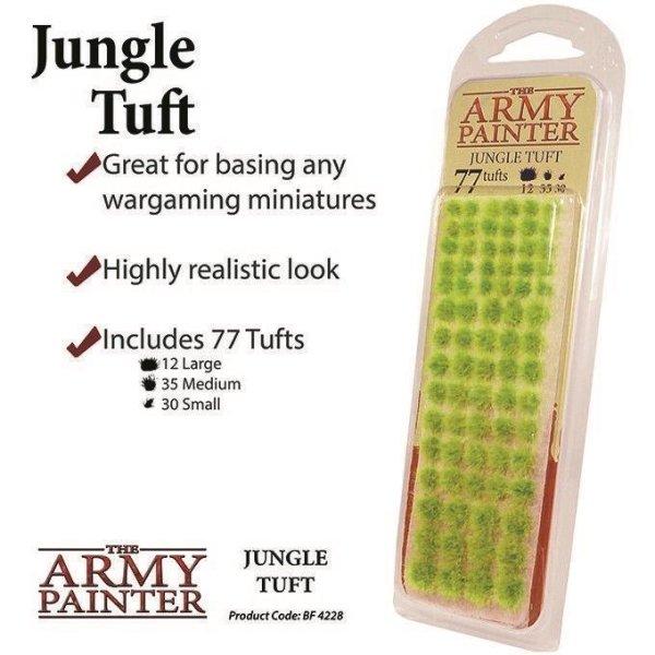 Army Painter BF4228 Jungle Tuft, Büchel, Battlefields, Tabletop Zubehör