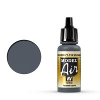Vallejo Model Air 71.110 Dark Grey 17 ml