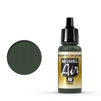 Vallejo Model Air 71.134 Midouri Green 17 ml