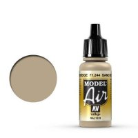 Vallejo Model Air 71.244 Camouflage Sandbeige Ral 1039 17 ml