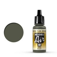 Vallejo Model Air 71.250 Bronzegreen 17 ml
