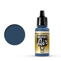 Vallejo Model Air 71.266 Dunkelblau (RLM24) 17 ml