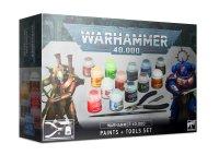Warhammer 40.000: Farben + Werkzeugset/ Paints + Tools