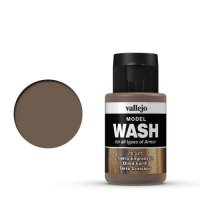 Vallejo Model Wash 76.521 Oiled Earth 35ml