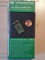 Uhlenbrock 34560 IntelliSound 6 Decoder H0 MOT/DCC/mfx...