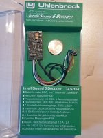 Uhlenbrock 34520 IntelliSound 6 Decoder H0 MOT/DCC/mfx...
