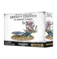 Daemons of Tzeentch - Fateskimmer, Herald of Tzeentch on...