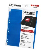 Ultimate Guard 18-Pocket Side-Loading Blau Blue (10)