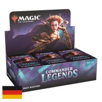 MTG Magic: Commander Legends Draft Booster Display (24...