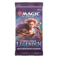 MTG Magic: Commander Legends Booster 2020 (DE)