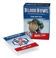 Blood Bowl - Dwarf Team Card Pack (Englisch)