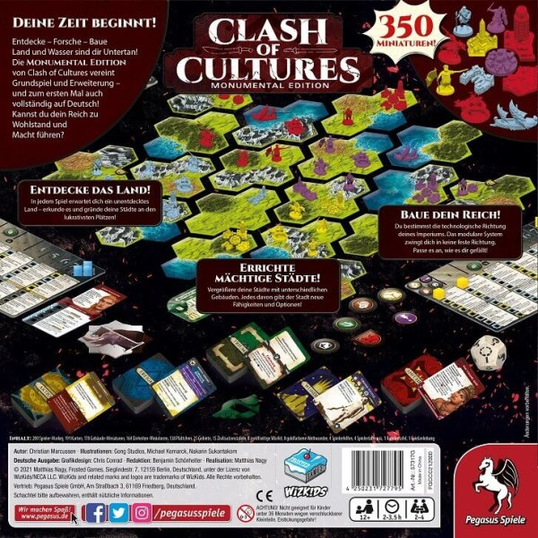 Clash of Cultures (Frosted Games) (DE)