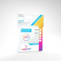 Gamegenic - MATTE Square-Sized Sleeves 73 x 73 mm - Clear...