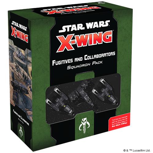 Star Wars: X-Wing 2.Ed. - Gesuchte + Kollaborateure - Erweiterungspack (DE)