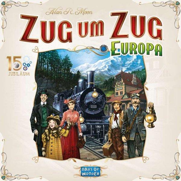 Zug um Zug Europa 15 Jahre Edition (DE)