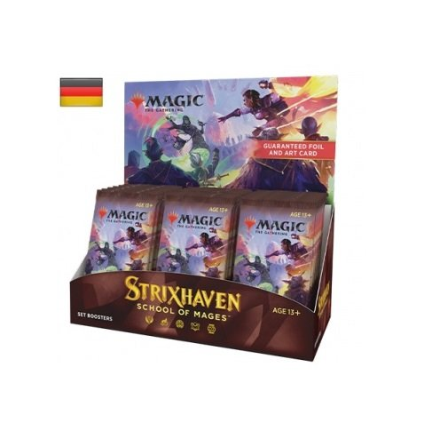 MTG - Strixhaven: Akademie der Magier Set Booster Display (30 Packs) - DE