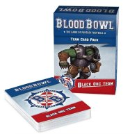 Blood Bowl - Black Orc Team Card Pack (Englisch)