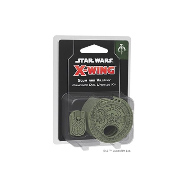 Star Wars: X-Wing 2.Edition Scum and Villainy Maneuver Dial Upgrade Kit (DE/EN/Multi)