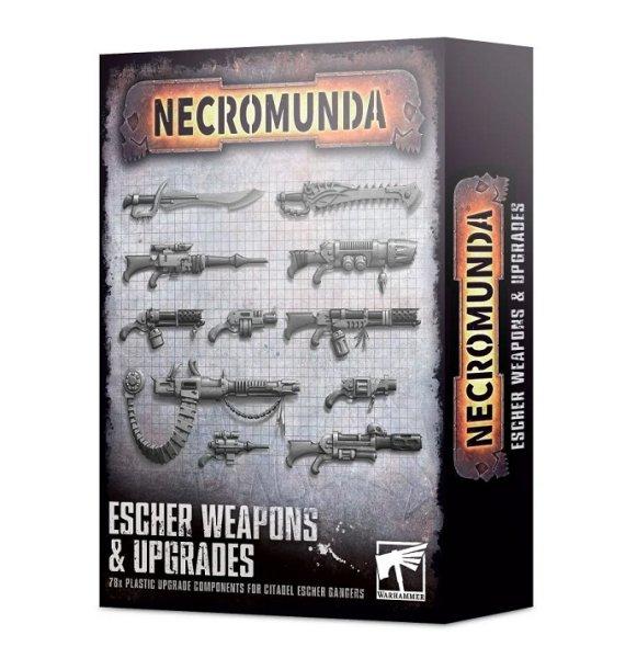 Necromunda - Waffen & Upgrades für Escher
