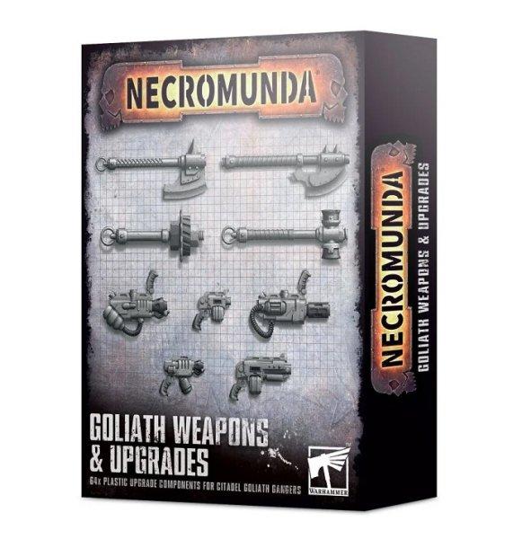 Necromunda - Waffen & Upgrades für Goliath