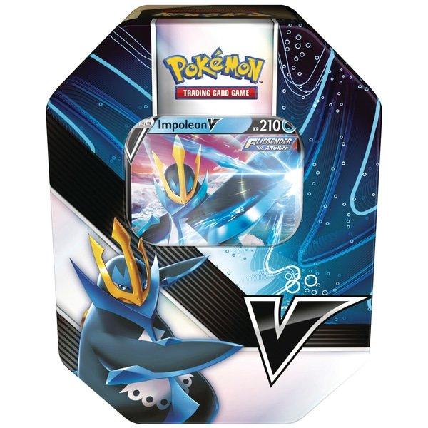 Pokemon  Empoleon V Summer 2021 V Strikers Tin Box (EN)