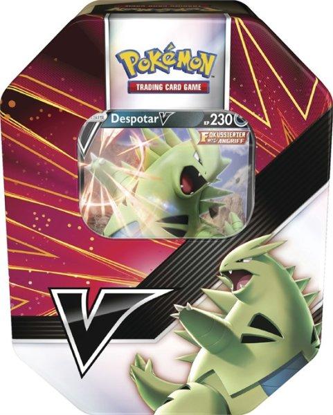 Pokemon Tyranitar V Summer 2021 V Strikers Tin Box (EN)