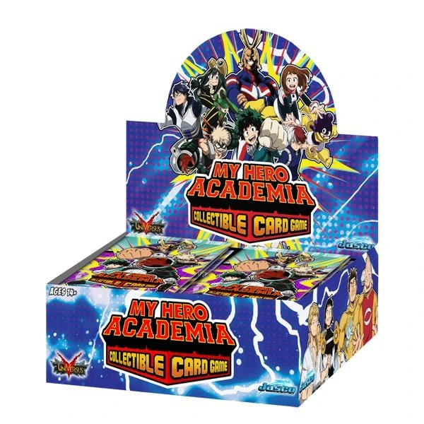 My Hero Academia Collectible Card Game - Booster Display (24 packs) Wave 1 (EN)