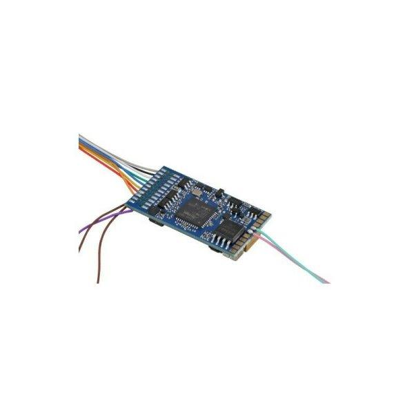 ESU 58210 LokSound 5 Fx 8-pin NEM652 DCC/MM/SX/M4, mit Lautsprecher H0, 0