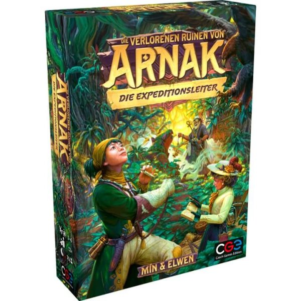 Die Verlorenen Ruinen von Arnak - Die Expeditionsleiter Erweiterung (DE)