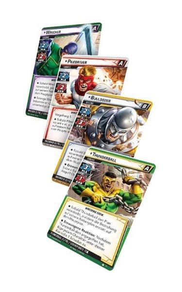 Marvel Champions: Das Kartenspiel - The Wrecking Crew Erweiterung (DE)