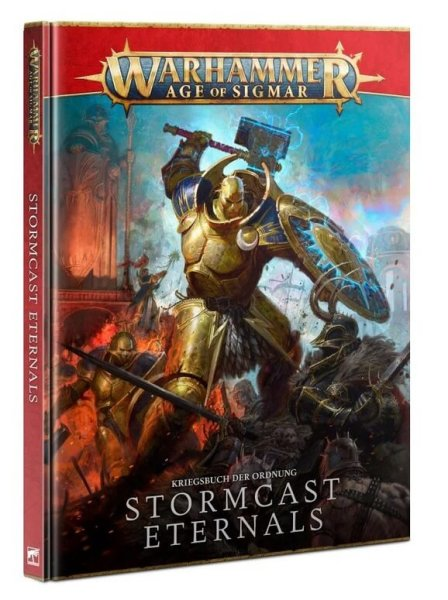 Battletome Kriegsbuch: Stormcast Eternals (DE) 2021