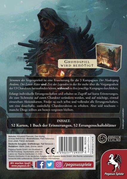 Tainted Grail: Stimmen der Vergangenheit, Erweiterung (DE)