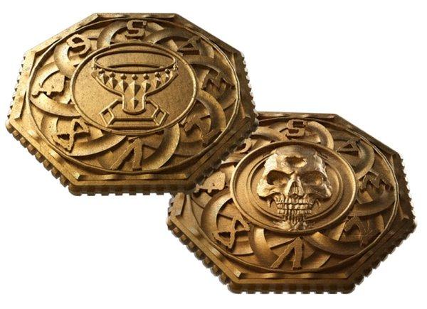 Tainted Grail Metal Dials/Coins
