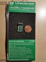 Uhlenbrock 74150 IntelliDrive2 PluX16 Lokdecoder MOT DCC...