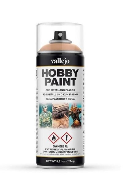 Vallejo Hobby Paint Spray Primer Bonewhite 400ml