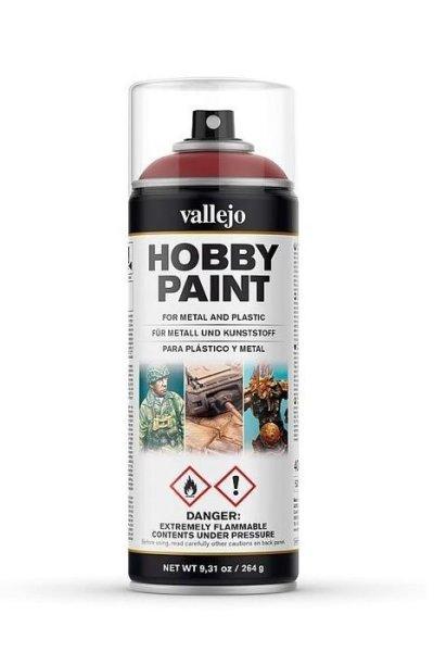 Vallejo Hobby Paint Spray Primer Gory Red 400ml