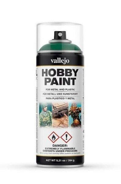 Vallejo Hobby Paint Spray Primer Sick Green 400ml (30€/1L)