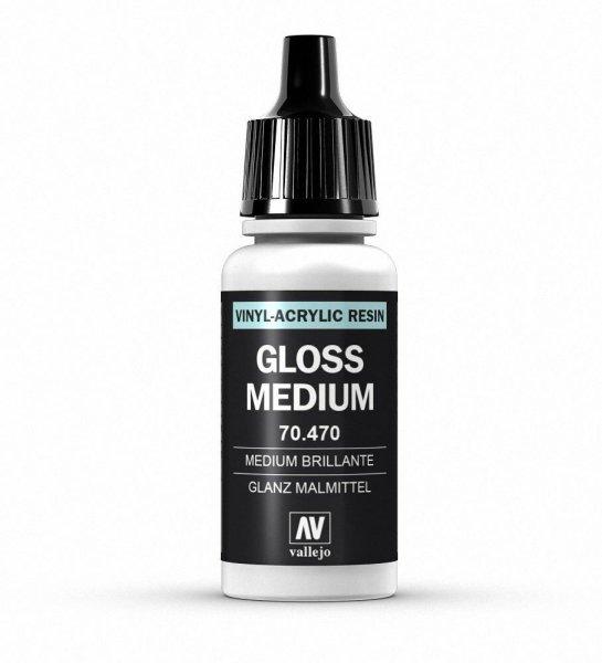 Vallejo Model Color 70.470 Gloss Medium 190 Glanz Malmittel 17ml