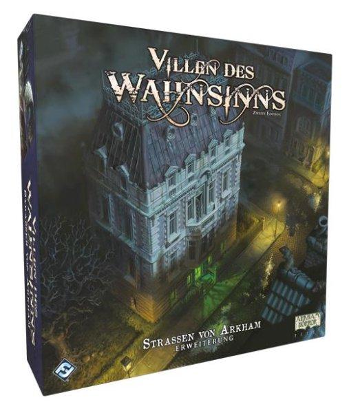 Villen des Wahnsinns 2.Edition - Straßen von Arkham (DE)  Erweiterung