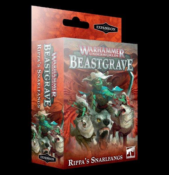 Warhammer Underworlds Beastgrave: Fetzas Zahnfletschas (DE)