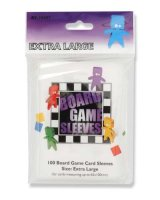 Board Game Sleeves 65x100 mm Extra Lage (100)...