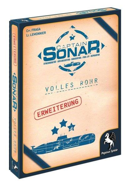 Captain Sonar Volles Rohr erw. (DE)