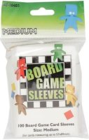 Board Game Sleeves 57x89 Medium (100) US Standard...