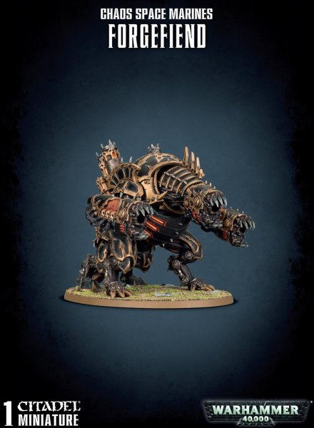 Chaos Space Marines - Forgefiend/ Maulerfiend