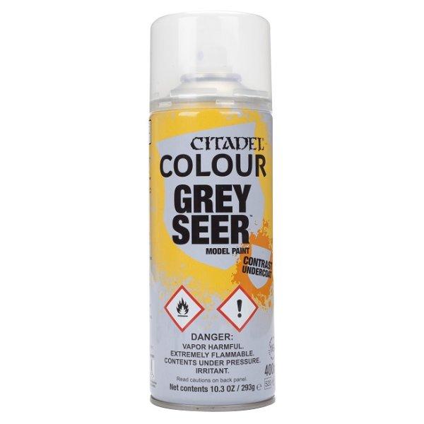 Citadel Color - Grey Seer Sprühgrundierung Spray 400ml