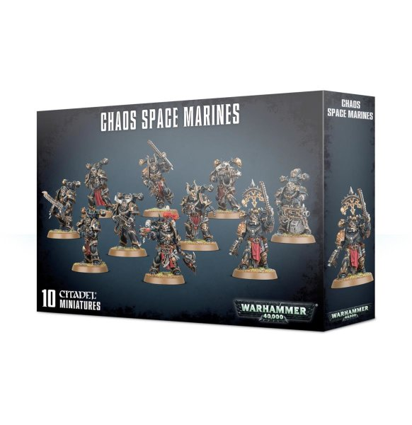 Chaos Space Marines Trupp Squad