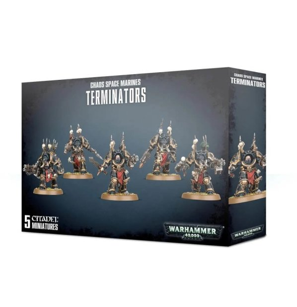 Chaos Space Marines - Terminators